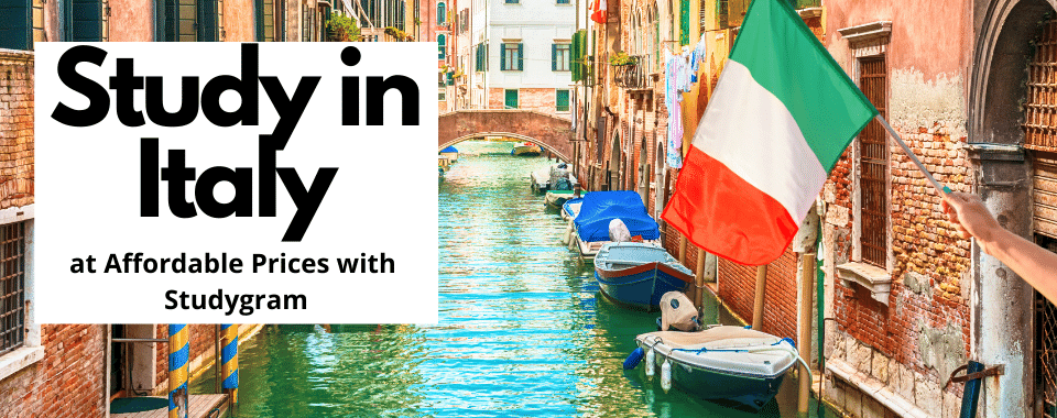 Study in Italy at Affordable Prices with Studygram
