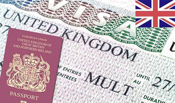 UK Visa Passport