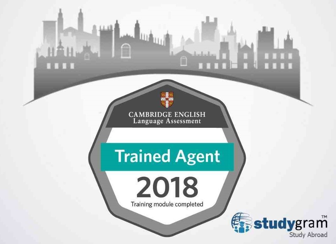 Cambridge English Trained Agent Badge
