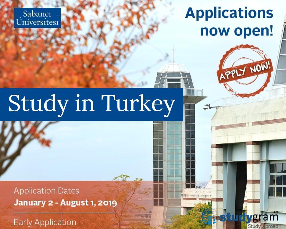 Turkish university Sabanci opens early undergrad admissions - Studygram